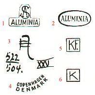 mærker i bunden af keramik Signaturer mærker i bunden af keramik